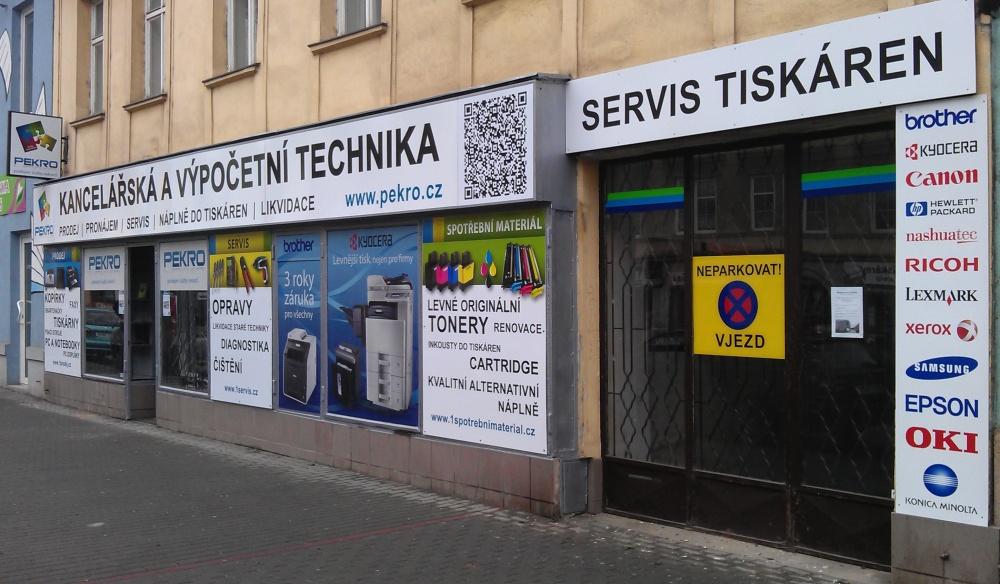 Prodejna tiskáren kopírek a faxů v Brně