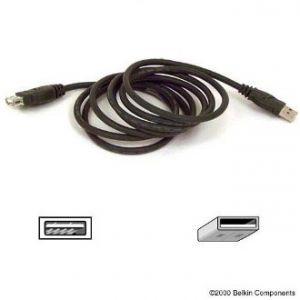 BELKIN USB prodlužovací kabel, A-A konektory, 1.8m