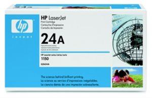 HP originální toner Q2624A, black, 2500str., HP 24A, HP LaserJet 1150
