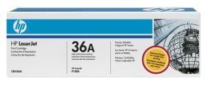 HP originální toner CB436A black 2000str., 36A HP LaserJet P1505, M1522n, nf MFP
