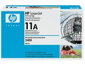 HP originální toner Q6511A, black, 6000str., HP 11A, HP LaserJet 2400, 2410, 2420, 2430