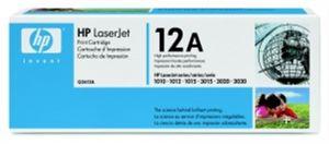 Q2612A Originální černá tonerová kazeta (2000 str.) pro HP laserové tiskárny LaserJet 1010