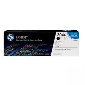 HP originální toner CC530AD černý/black 7000 (2x3500) 304A, HP HP Color LaserJet CP2025