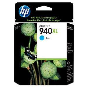 HP originální ink C4907AE, HP 940XL, cyan, 1400str., 16ml, HP Officejet Pro 8000, Pro 8500