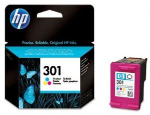 HP originální ink CH562EE, HP 301, color, 165str., HP HP Deskjet 1000, 1050, 2050, 3000, 3