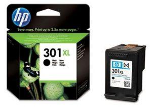 HP originální ink CH563EE, HP 301XL, black, 480str., HP HP Deskjet 1000, 1050, 2050, 3000,