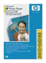 HP Advanced Glossy Photo Paper, 10 x 15cm, 25ks,