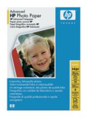 HP Advanced Photo Paper, lesk, A4, 50 listů,250g/m