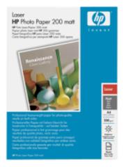 HP Q6550A Laser Photo Paper,Matt, A4, 100 listů, 200 g/m2 , fotopapír pro laserový tisk