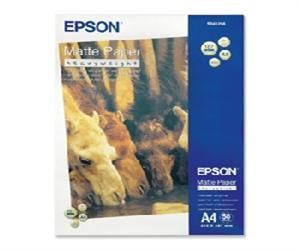 EPSON A4,Mate Paper-Heavyweight (50lsitů)