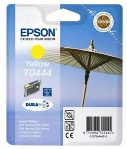 EPSON originální ink C13T044440, yellow, 420str., 13ml, high capacity, EPSON Stylus C84,C6