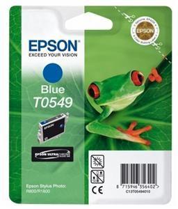 EPSON originální ink C13T054940, blue, 400str., 13ml, EPSON Stylus Photo R800, R1800