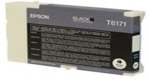EPSON originální ink C13T617100, black, 100ml, high capacity, EPSON B500, B500DN