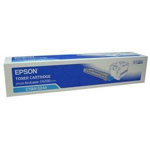 EPSON originální toner C13S050244, cyan, 8500str., EPSON AcuLaser C4200DN, 4200DNPC5, 4200