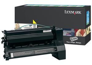 LEXMARK originální toner C780A1YG, yellow, 6000str., return, LEXMARK C780, C782