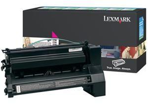 LEXMARK originální toner C780H1MG, magenta, 10000str., return, LEXMARK C780, C782