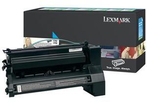 LEXMARK originální toner C782X1CG, cyan, 15000str., return, LEXMARK C782