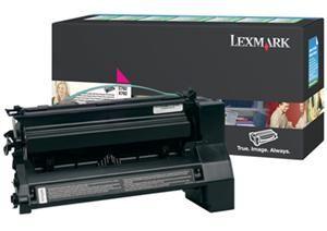 LEXMARK originální toner C782X1MG, magenta, 15000str., return, LEXMARK C782