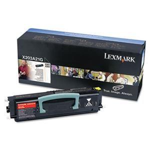 LEXMARK originální toner X203A11G, black, 2500str., return, LEXMARK X203, X204