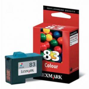 LEXMARK originální ink 18LX042E, #83, color, 520str., LEXMARK Z55, Z65, Z65n