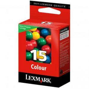 LEXMARK originální ink 18C2110E, #15, color, return, 150str., LEXMARK Z2320, X2650