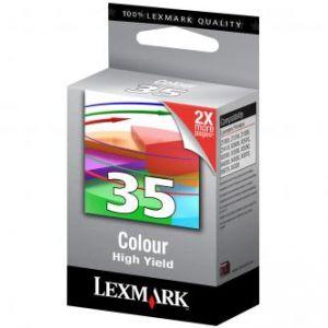 LEXMARK originální ink 18C0035E, #35XL, color, 450str., LEXMARK Z815, Z818, X5250, 5260, 5