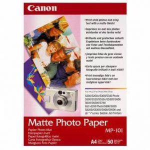 CANON MP-101, A4 fotopapír matný, 50 ks, 170g/m