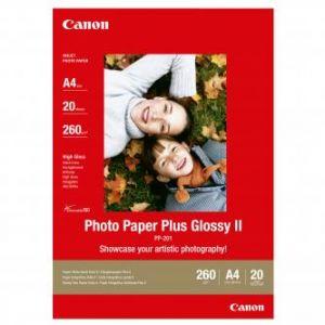 CANON PP-201, A4 fotopapír lesklý, 20ks, 260g/m