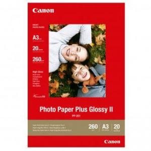 CANON PP-201, A3 fotopapír lesklý, 20ks, 260g/m