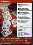 CANON HR-101, A4 fotopapír, 50 ks, 106g/m