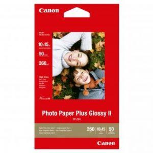 CANON PP-201, 10x15cm fotopapír lesklý, 50ks, 260g