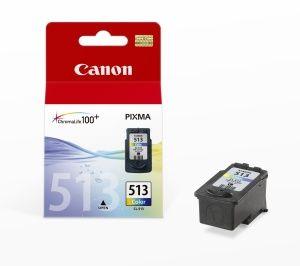 CANON originální ink CL-513 color 350str. 13ml CANON MP240, MP260,...