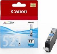 CANON originální ink CLI-521C, cyan, 505str. 9ml, CANON iP3600, iP4600, MP620, M