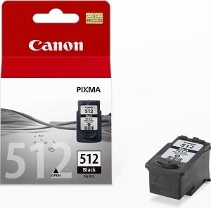 CANON originální ink PG-512BK, black, 400str., 15ml, CANON MP240, 260, 480