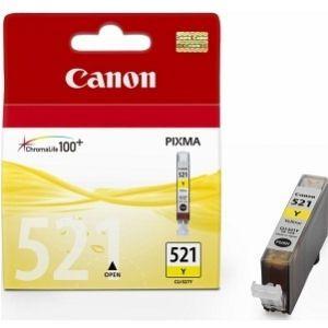 CANON originální ink CLI-521Y, yellow, 505str. 9ml, 2936B001, CANON iP3600, iP4600, MP620,