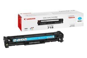 CANON originální toner CRG-718 cyan/modrý 2900str. pro CANON LBP-7200Cdn