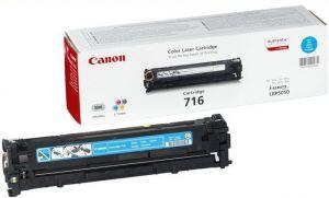 CANON originální toner CRG716, cyan, 1500str., 1979B002, CANON LBP-5050, 5050n, MF-8050