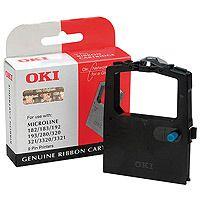 OKI originální páska do tiskárny, 9002303, černá, OKI ML 100, 180, 182, 192, 280, 320, 321
