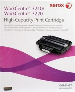 XEROX originální toner 106R01487, black, 4100str., XEROX WorkCentre 3210, 3220