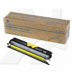 KONICA MINOLTA originální toner A0V305H, yellow, 1500str., KONICA MINOLTA QMS MC1650EN, MC