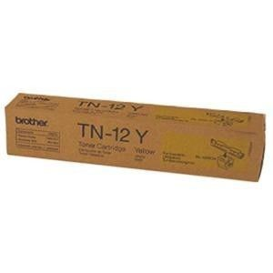 BROTHER TN-12Y originální toner Yellow/Žlutý 6000str. BROTHER HL-4200CN,...