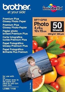 BROTHER BP71GP50 Fotopapír 50 listů Premium Glossy 10x15cm 260g/m