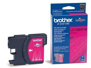 BROTHER originální ink LC-1100HYM, magenta, 750str., high capacity, BROTHER DCP-6690CW, MF