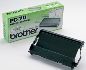 BROTHER originální fólie do faxu PC70, 140s, BROTHER Fax T-74, T-76, T-78, T-84, T-86, T-9
