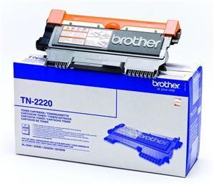 BROTHER TN-2220 originální toner Black/Černý 2600str. BROTHER HL-2240D, 2250DN,...