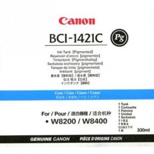 CANON originální ink BCI1421PC, photo cyan, 330ml, 8371A001, CANON BJ W8200, 8400P