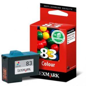 LEXMARK originální ink 18LX042B, #83 HY, color, blistr, 520str., LEXMARK Z55, Z65, Z65n