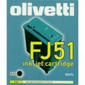 OLIVETTI originální ink B0494, black, OLIVETTI Fax-Lab 101, 128, FJ51