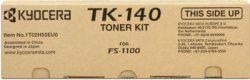 KYOCERA originální toner TK140, black, 4000str., 0T2H50EU, KYOCERA FS-1100, 1100N
