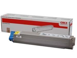OKI originální toner 44036021, yellow, 15000str., OKI C910